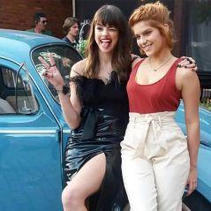 """Isabella Santoni beijou Agatha Moreira para o filme """"Missão Cupido"""": """"Não sei se vai pro cinema"""""""