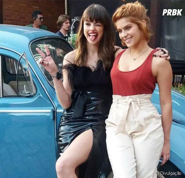"""Filme """"Missão Cupido"""": Isabella Santoni e Agatha Moreira se beijaram para uma das cenas!"""