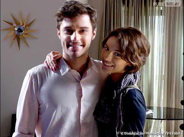 """Será que Martin (Hugo Bonemer) e Micaela (Laís Pinho) ficarão juntos em """"Malhação""""?"""