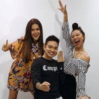 Maisa Silva posa com Yudi Tamashiro e Priscilla Alcantara e fãs enlouquecem!