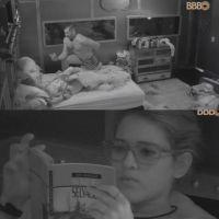 """No """"BBB18"""": Patrícia e Kaysar protagonizam noite quente e Ana Clara assiste tudo"""