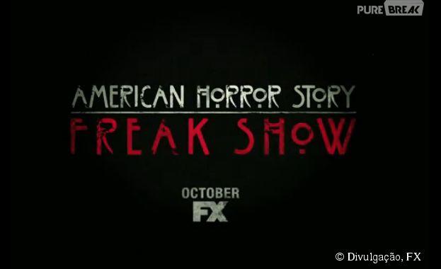 """Seremos apresentados a """"American Horror Story: Freakshow"""" no dia 8 de outubro"""