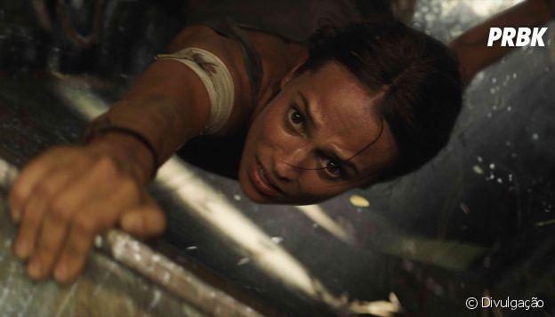 """""""Tomb Raider: A Origem"""" peca nas suas cenas de ação"""