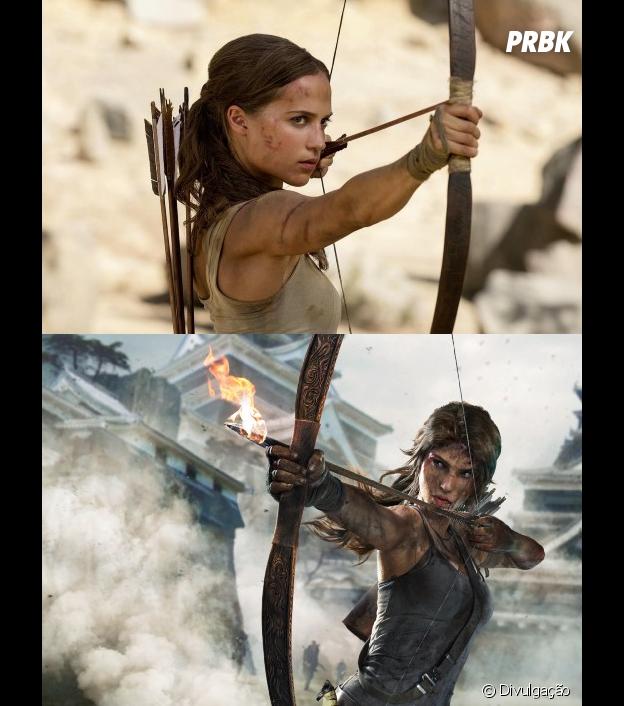 """""""Tomb Raider: A Origem"""" acerta na construção da personagem principal"""
