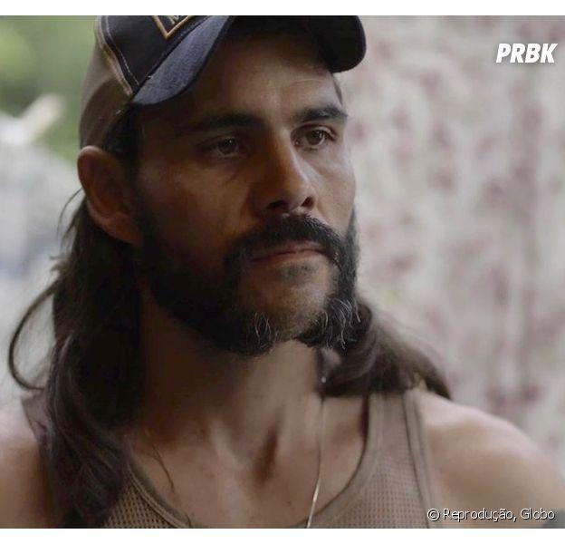 """Em """"O Outro Lado do Paraíso"""": Mariano (Juliano Cazarré) promete vingança a Sophia (Marieta Severo)"""