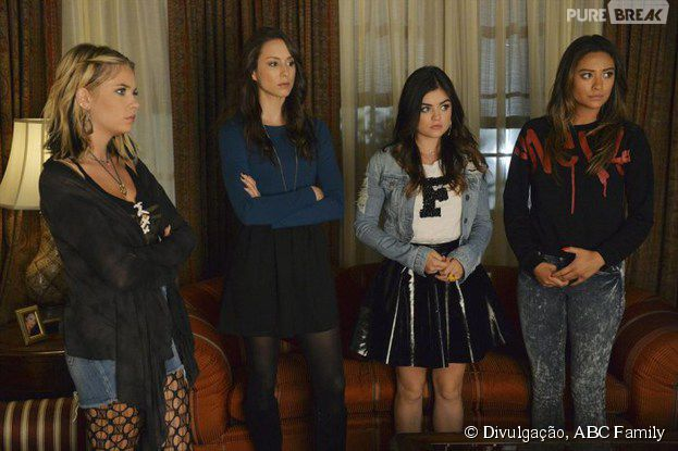 "As liars terão muito o que temer no episódio ""Taking This One to the Grave"", summer finale de ""Pretty Little Liars"""