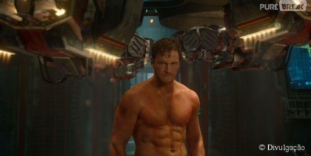 """Chris Pratt é a protagonista de """"Guardiões da Galáxia"""""""
