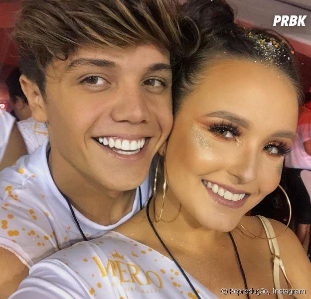 e265b46fd02c3 Larissa Manoela se declara para Leo Cidade em show do Luan Santana ...
