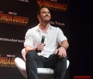 """De """"Vingadores: Guerra Infinita"""": Chris Pratt vem ao Brasil para divulgar novo filme e não poupa elogios à colegas de elenco"""