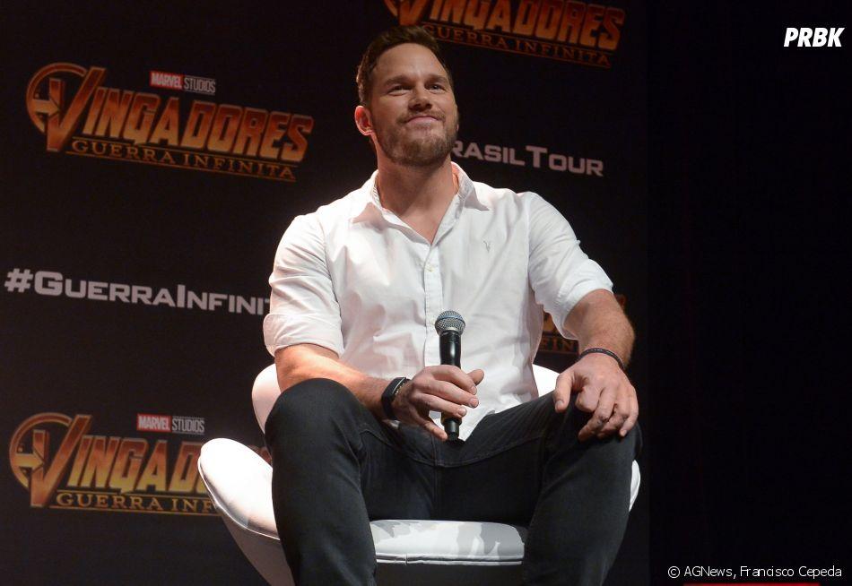 """De """"Vingadores: Guerra Infinita"""": Chris Pratt fala que quer ver mais mulheres protagonistas em fimes de heróis"""