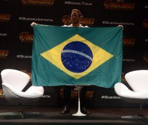 """De """"Vingadores: Guerra Infinita"""": Chris Pratt é recebido por mais de 800 fãs em São Paulo e fala sobre novo filme"""