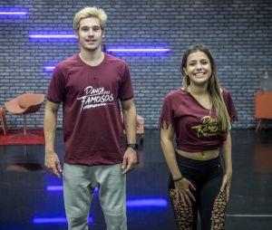 """Nicolas Prattes e Mayara Araújo se conheceram durante a edição de 2017 da """"Dança dos Famosos"""", do """"Domingão do Faustão"""""""