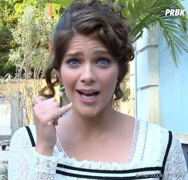 """No """"Vídeo Show"""", Isabella Santoni conta como foi seu primeiro beijo"""