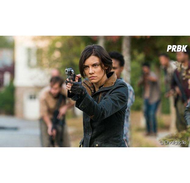"""Em """"The Walking Dead"""", retorno de Lauren Cohan, a Maggie, ainda é incerto para a 9ª temporada"""