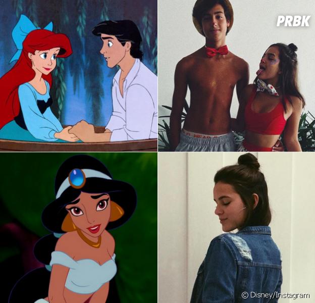 De Mel Maia a Bruna Marquezine, veja quais princesas da Disney as atrizes da Globo seriam!