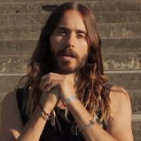 Jared Leto convida fãs para o show do 30 Seconds to Mars no Brasil