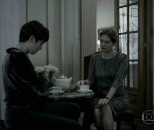 """Em """"O Rebu"""", Angela (Patrícia Pillar) nunca aprovou o relacionamento de Duda (Sophie Charlotte) e Bruno (Daniel de Oliveira)"""