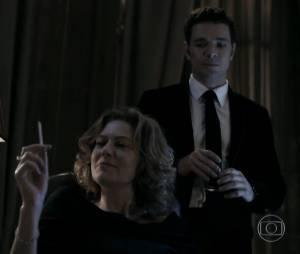 """Em """"O Rebu"""", Bruno (Daniel de Oliveira) queria acabar com a vida de Angela (Patrícia Pillar)"""