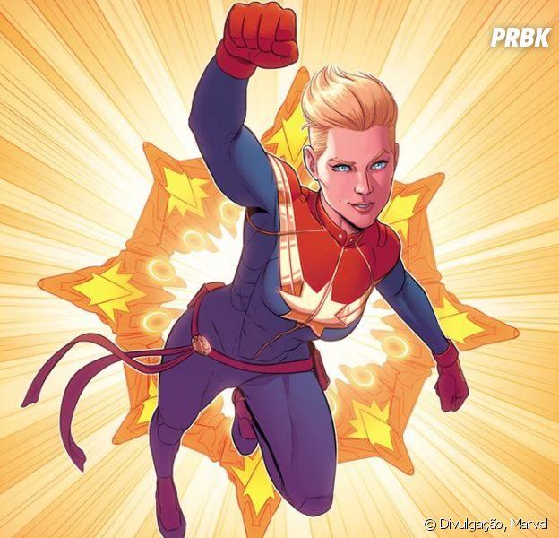 Saiba quem é a Capitã Marvel nestes 10 fatos sobre a super-heroína