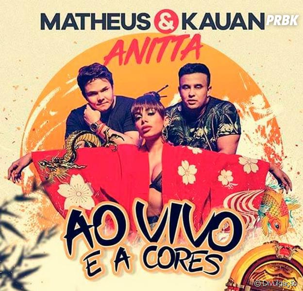 """Anitta e Matheus & Kauan lançam a música """"Ao Vivo e a Cores"""". Ouça aqui!"""