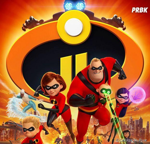 """Disney e Pixar divulgam cena inicial de """"Os Incríveis 2"""