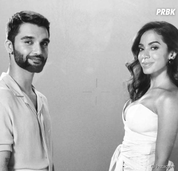 """Anitta e Silva fazem parceria na música """"Fica Tudo Bem""""."""