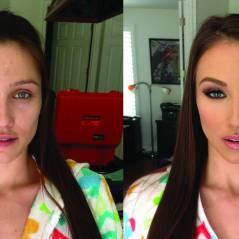 14 transformações impressionantes de mulheres antes e depois da maquiagem