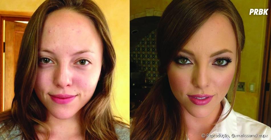 Como ficar mais bonita apenas com maquiagem