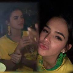 """Bruna Marquezine se declara para Neymar antes de estreia na Copa: """" Te amo, meu amor ! VEM HEXA"""""""