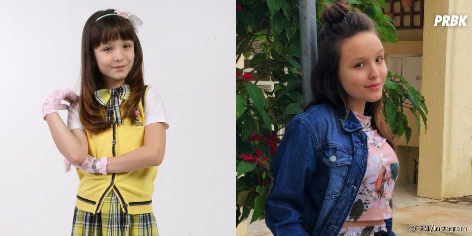 """Veja o antes e depois de Larissa Manoela, a Maria Joaquina de """"Carrossel"""""""