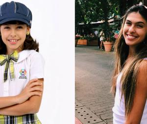 """Veja o antes e depois de Fernanda Concon, a Alícia de """"Carrossel"""""""