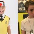 """Veja o antes e depois de  Matheus Ueta , o Kokimoto de """"Carrossel"""""""
