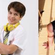 """Veja o antes e depois de  Lucas Santos , o Paulo  de """"Carrossel"""""""