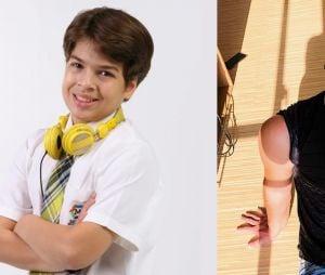 """Veja o antes e depois de Lucas Santos, oPaulo de """"Carrossel"""""""