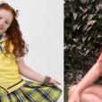 """Veja o antes e depois de  Victória Diniz , a Bibi de """"Carrossel"""""""