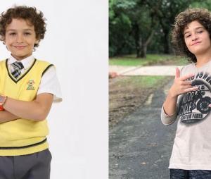"""Veja o antes e depois de Guilherme Seta, o Davi de """"Carrossel"""""""