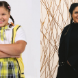 """Veja o antes e depois de  Aysha Benelli , a Laura de """"Carrossel"""""""