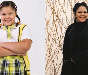 """Veja o antes e depois de Aysha Benelli, a Laura de """"Carrossel"""""""