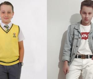 """Veja o antes e depois de Léo Belmonte, o Jorge de """"Carrossel"""""""
