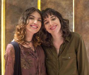 """Giovanna Grigio conta que elenco de """"Malhação - Viva a Diferença"""" ainda é amigo e adora mandar memes no Whatsapp"""