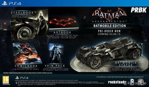 """Edição de colecionador de """"Batman: Arkham Knight"""""""