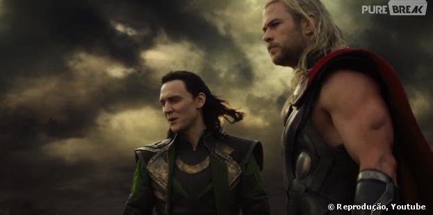 """Loki e Thor se unirão para salvar o universo em""""Thor: O Mundo Sombrio"""""""