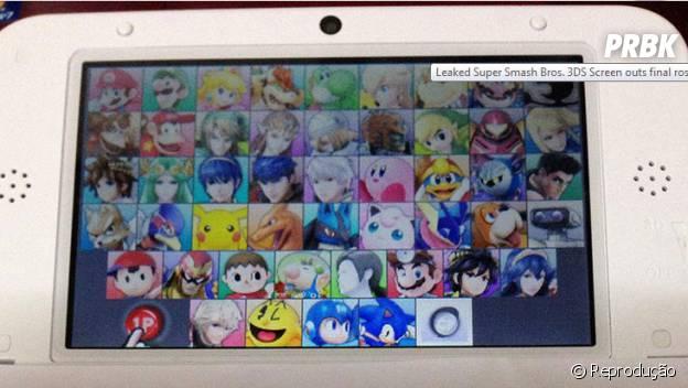 """Serão 48 novos personagens no game """"Super Smash Bros."""""""