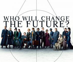 "O elenco completo de ""Animais Fantásticos: Os Crimes de Grindelwald""."