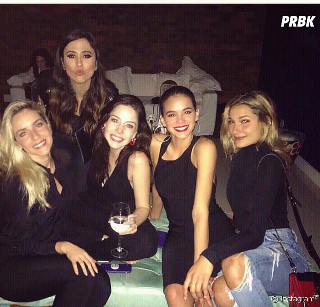 "Sasha prestigia amigos na festa final de ""Deus Salve o Rei"""