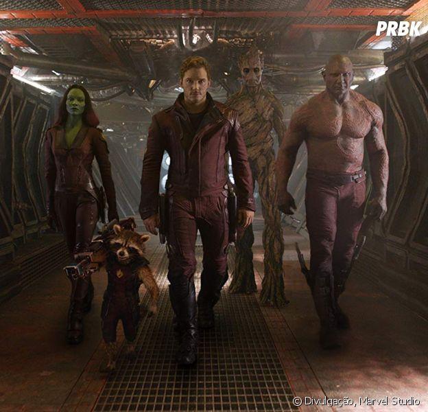 """Elenco de """"Guardiões da Galáxia"""" pedem a volta de James Gunn no terceiro filme da franquia"""