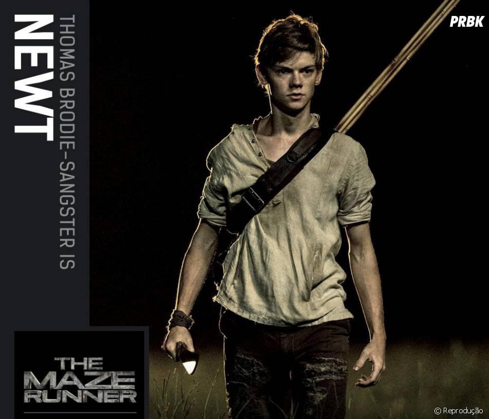 """Em """"Maze Runner - Correr ou Morrer"""":Thomas Brodie-Sangster estrela o papel de Newt"""