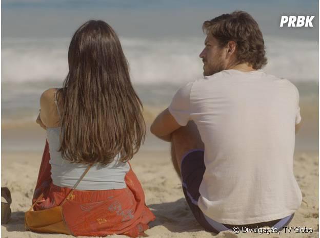"""Sandra (Isis Valverde) está grávida e quer se afastar de Rafael (Marco Pigossi), em """"Boogie Oogie"""""""
