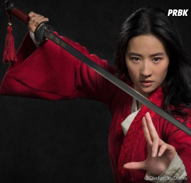 """Filme """"Mulan"""" ganha as primeiras imagens de Liu Yifei como a princesa"""