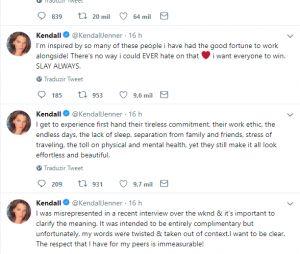 Kendall Jenner explica entrevista que deixou modelos irritadas